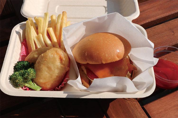 バーガーBOX チーズバーガー Burger box Cheeseburger